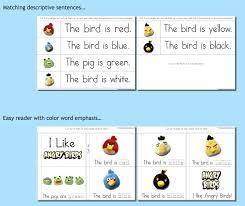 Angry Birds Behavior Chart Educational Freebie Angry Birds Preschool Printable Pack