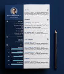 Free Customizable Print Ready Resume Cv Psd Template Titanui