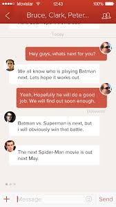 Path-real-pixels-chat-group | Chat Screen UI UX Mobile | Pinterest