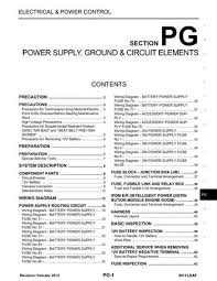 2013 nissan leaf power supply ground circuit elements 2013 nissan leaf power supply ground circuit elements section pg 70 pages