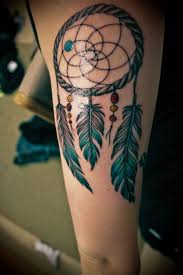 Dream Catcher Tattoos On Arm 100 Awesome Dreamcatcher Tattoos And Meanings Dream catchers 46