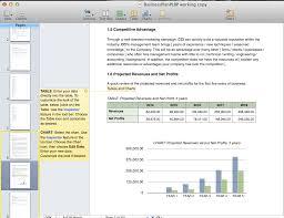 Business Plan Screenshots Iwork09 Perfect Little