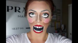 ventriloquist doll makeup tutorial