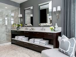 dark brown double washstand