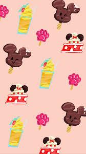 Cute Disney food wallpaper!