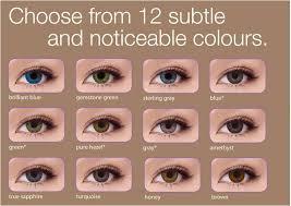 Freshlook Color Chart For Dark Eyes Freshlook Colorblends Color Chart Facebook Lay Chart