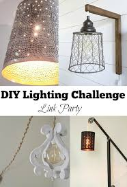 DIY Plug in Sconces from pendant lights My Love 2 Create