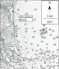 Tide Chart Camp Ellis Camp Ellis Area From U S Coast And Geodetic Survey Chart 6