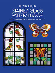 Stained Glass Pattern Awesome Amazon Stained Glass Pattern Book 48 Designs For Workable
