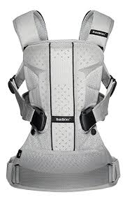 BABYBJORN Baby Carrier One Air - Silver, Mesh