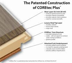 coretec lvt diagram largest luxury vinyl plank