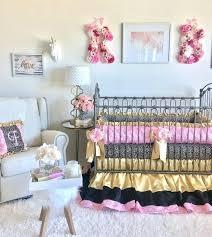 designer crib bedding luxury girl crib bedding