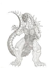 40+ godzilla coloring pages for printing and coloring. Godzilla Coloring Pages Print Monster For Free