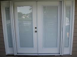 patio door glass inserts with blinds