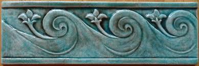 Decorative Relief Tiles Decorative handmade ceramic tile Decorative relief carved ceramic 27