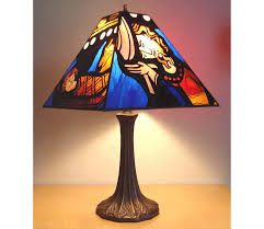 perfect stained glass lamp shades only for torch lamp shade