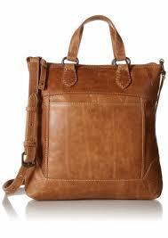 frye melissa small tote cross leather bag beige