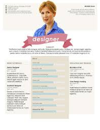 An Impressive Resumes 49 Creative Resume Templates Unique Non Traditional Designs