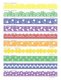 Easy Chart Border Designs Bedowntowndaytona Com