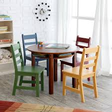 lipper childrens rectangular table and chair set  hayneedle