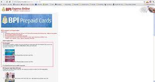 Finally An Alternative Debit Card For Paypal Bpi E Prepaid Mastercard