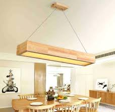 simple long wooden table chandelier lamps office rectangular wood silver pendant light designer pendants from and square wood chandelier