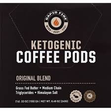 Rapid fire is packaged in canisters or individual serving pods. Rapid Fire Coffee Ketogenic Medium Roast Original Blend Pods 16 Each Instacart