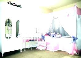 Twin Size Canopy Bed Twin Bed Canopy Little Girl Canopy Bed Princess ...