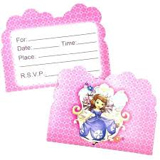 Princess Invitations Free Template Example Invitation Birthday Party Princess Themed First Birthday