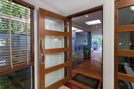 house front door handle. Stylish Wood And Glass Door With Contemporary Handle House Front R