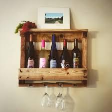 pinterest wine rack.  Pinterest Handmade Rustic Wine Rack Holds 5 Bottles And 4 Glasses And Pinterest Wine Rack L