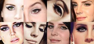 lana s style of makeup always varies but she is often seen with a perfect cat eye eyeliner flick which is all thanks to her longtime make up artist pamela