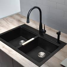 Granite Double Bowl Kitchen Sink Kitchen Faqs Selecting Your Sink Material Part 1 Kitchen Double