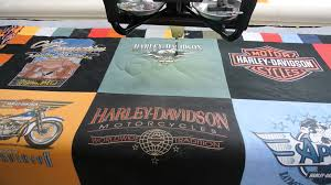 Harley Davidson T-shirt Quilt Maker! - YouTube & Harley Davidson T-shirt Quilt Maker! Adamdwight.com