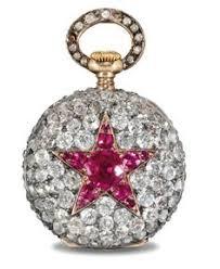 patek philipe diamond and ruby watch circa 1892 pocket watch antique ancient jewelry antique