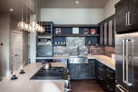 rustic modern office. Best Modern Rustic Kitchen Charming Fresh On Home Office View New In Design