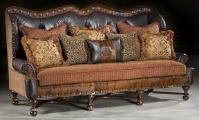 ... Brown High End Sofa Simple Decoration Ideas Motive Dark Western Classic  Furniture Adjustable ...