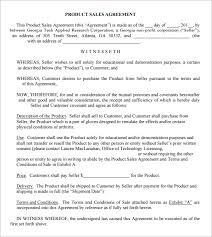 Product Purchase Agreement Template Product Purchase Agreement