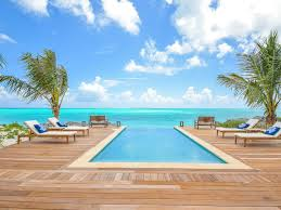 Infinity pool beach house Mediterranean Ha Oahucom Ba Roos Stunning Bedroom Beach House Infinity Pool Tar Bay