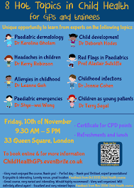 hot topics in child health for gps and trainees tickets fri  very good information a lot of messages to take home very useful for my training very helpful and engaging speakers were clearly passionate about