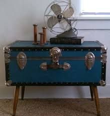 trunk table furniture. Antique Trunk Coffee Table Vintage For Sale  Enchanting Furniture