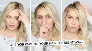 What Hair Style Should I Get are you parting your hair the right way youtube 4986 by wearticles.com