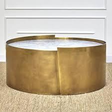astounding drum coffee table of kelly wearstler kelly wearstler alta
