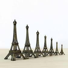 <b>25cm</b> Metal Art Crafts Paris Eiffel <b>Tower</b> Model Figurine Zinc Alloy ...