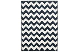 indoor outdoor zig zag rug navy 230x160cm