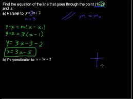 how to calculate parallel and perpendicular lines precalculus tips you