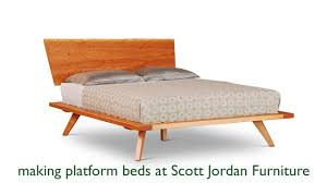 Scott Jordan Furniture Makes Platform Beds