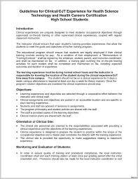 Resume Objectives For Ojt Hrm Students 274112 School Psychology