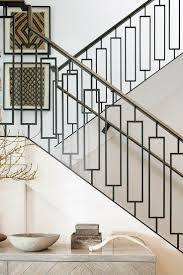 New Modern Metal Stair Railing 78 In Home Decorating Ideas with Modern Metal  Stair Railing