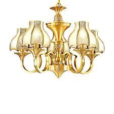 polished brass chandelier clean brass chandelier